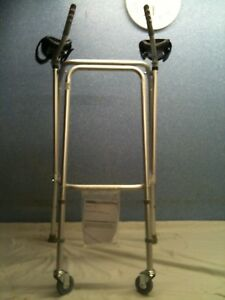 Forearm Walking Frame, with Castors. Several Available. Delivery Arranged.
