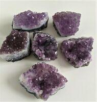1 x Amethyst Druze/Cluster Brazil Crystal/Rock/Mineral (60-80mm)