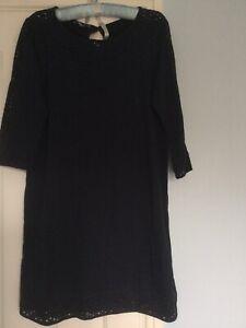 Laura Ashley Tunic Dress - Size 14- Navy