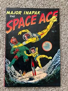 Promotional Comic Book: Major Inapak, Space Ace #1