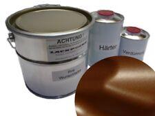 5 litros Kit 2k Pintura Marrón Chocolate Metálico Acabado Satinado