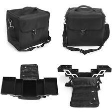 Portable Big Make up Case Cosmetic Tech Bag Train Case Makeup Tool Shoulder Bag