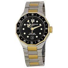 Baume & Mercier Luxury Men's 8781 Riviera Two-Tone  Automatic Watch (BRAND NEW)
