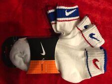 New! Boys Nike Socks Shoe size 3.5-8.5, Sock Size 9-11; Low cut, Quarter, & Crew