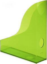 Stehsammler BASIC, Polystyrol, 73 x 306 x 241 mm, transluzent grün (Durable; ...