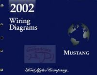MUSTANG 2002 SHOP MANUAL FORD ELECTRICAL SERVICE WIRING REPAIR