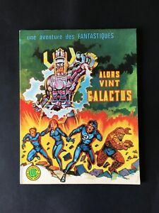 Une aventure des Fantastiques 8: Alors vint Galactus (EO 1975, LUG)