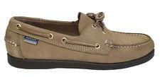 Mens Sebago Docksides Nubuck Leather Boat Deck Shoes UK Size 9 EU 43.5