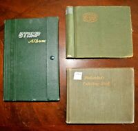 CatalinaStamps: World Wide Collection in 3 Stockbooks, 749 Stamps, D182