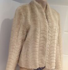 Vintage Beige  Faux Fire Jacket/coat