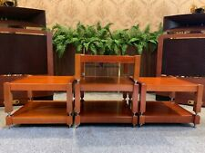 7 shelves, 100% natural ash wood shelves handcrafted for holding amplifiers