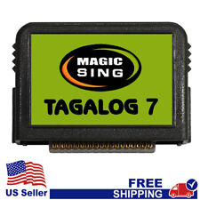 "MAGIC SING Chip ""Tagalog 7""  - Tagalog & English Song Chip w/ SONG LIST"