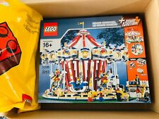 LEGO 10196 Creator Grand Carousel New Sealed Rare Retired set Original Ship Box
