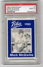 MARK McGWIRE  1982 ANCHORAGE GLACIER PILOTS......PSA 9....MINT !!!    RARE !!!