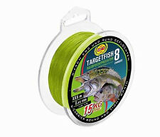 WFT TargetFish 8fach geflochten - Raubfisch Chartreuse 150m 0,08mm - 6kg