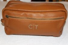 """Mark and Graham Light Brown Everyday Leather Travel Bag NWOT Free Shipping """"C/T"""""""