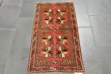 Doormats Turkish Hand Knotted Wool Small Rug Antique Weave Mats Rugs 2x3 ft.