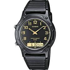 Casio Reloj Analógico-Digital para Hombre de Cuarzo con Correa en Plástico AW...