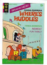 Where's Huddles #1 Gold Key 1971 VF- 7.5 Hanna-Barbera