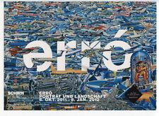 ERRO PHOTOGRAPHIE D'ART SIGNÉ À LA MAIN HANDSIGNED ART PHOTOGRAPH 20x28 CM AVION