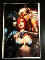 Red Sonja Age of Chaos #4 KOMIKAKI VIRGIN COVER DYNAMITE FIRST PRINT NM+