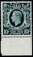 SG478, 10s dark blue, NH MINT. Cat £260. MARGINAL.