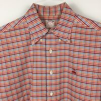 Brooks Brothers Men's Non Iron Long Sleeve Button Up Shirt Size M Multicolor