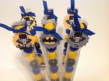 Batman - Birthday Party Favor- Gumball Candy