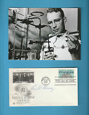 Luis W Alvarez (Nobel Prize Physics 1968)  Signed Natioal Academy Sciences FDC