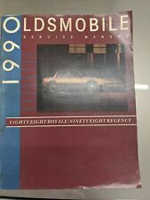 1990 Oldsmobile Service Manual For Eighty Eight Royale And Ninety-eight Regency