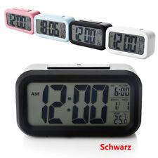 LCD Digitalwecker Alarmwecker Uhr Funkwecker Alarm Tischuhr Mit Datum Temperatur