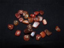 Bagged Rune Stone Set - Carnelian.