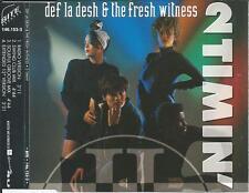DEF LA DESH & THE FRESH WITNESS - 2 Timin' CDM 4TR Europop Swingbeat 1992 (BITE)