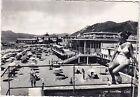 GENOVA CHIAVARI 69 SPIAGGIA - DONNA in COSTUME DA BAGNO Cartolina viagg. 1951