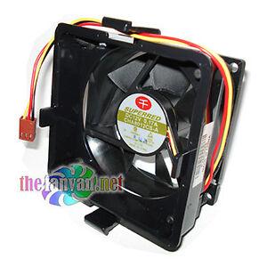 Superred CHA8012CS-A 80mm x 25mm Case Fan w/ Mounting Bracket & Rubber Grommets