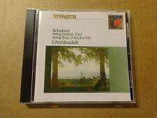 CD / SCHUBERT - L'ARCHIBUDELLI: STRING TRIOS D. 471 & 581  | D. 87 (SONY)