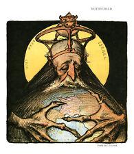 Publicité ancienne dessin de C. Léandre Rothschild 1981 issue du livre