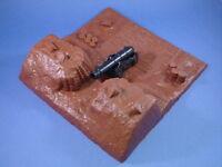 Toy Soldiers Redoubt Bunker Alamo Civil War Fort Naval Cannon Set Plastic 1/32