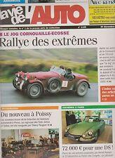 LA VIE DE L'AUTO  N°1155 ; 2004  CAMIONS DE POMPIERS  PIN PON GROUP ALSACE