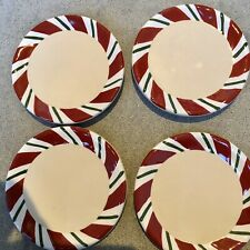 Longaberger Peppermint Twist Coasters Set Of 4