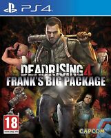 Dead Rising 4 Frank's Big Package PS4 Playstation 4 **ZOMBIES!!**