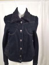 Stella McCartney Denim Jacket with woven collar Size 42