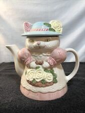 Novelty Cat Tea Pot Mint