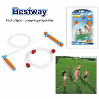 Bestway Kids Hydro Splash Jump Skipping Rope With Built In Sprinkler Garden Game