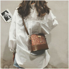 Women Ladies Bag Handbag Leather Shoulder Tote Satchel Messenger Cross Body Deer