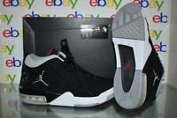 Jordan Big Fun Boys Grade School Basketball Shoes BV6434 001 Black/Silver-White