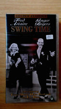 Swing time. VHS video. 4Front Video no. 0562843, 1998. Very good condition.