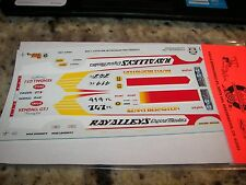 Ray Alley's Engine Masters Charger - NHRA Decals Slixx #1292 - Kenny Bernstein