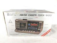 GPX AM FM Cassette Alarm Clock Radio DC590 - Read Description