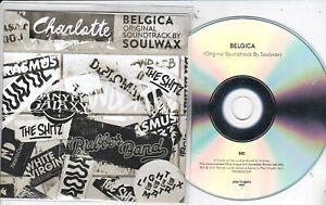 SOULWAX BELGICA ORIGINAL SOUNDTRACK RARE NUMBERED PROMO CD